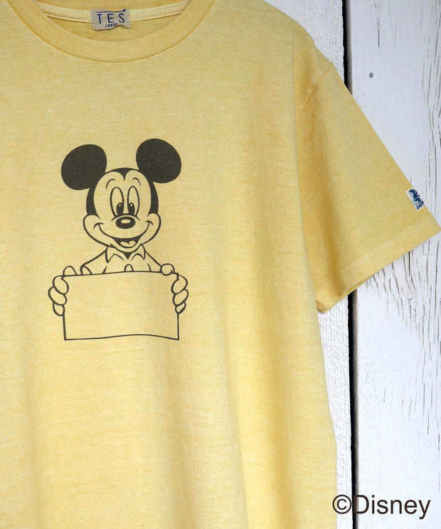 DISNEY for TES SPECIAL EDITION PIGMENT SIGN TEE