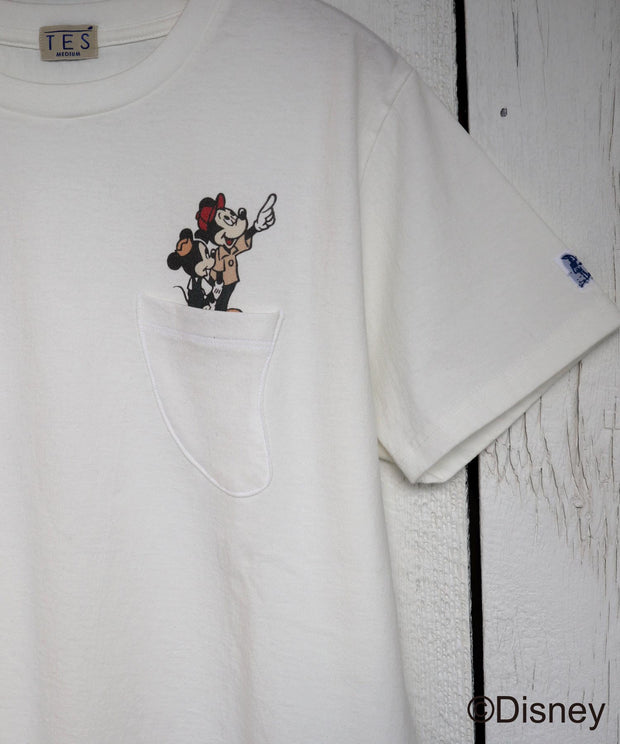 DISNEY for TES SPECIAL EDITION MICKEY LOOK TEE