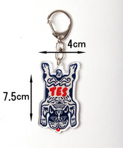 TES SOUVENIR KEY HOLDER