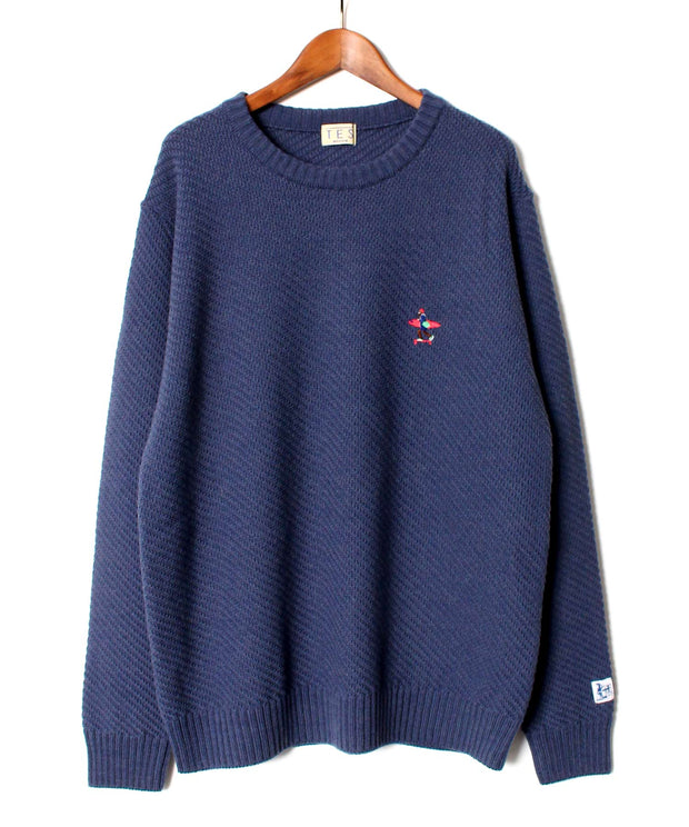 TES CALIFORNIA CREW WAVE KNIT