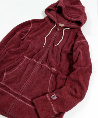 TES COMFORTABLE PILE PIGMENT ZIP PARKA / パイル ジップパーカー