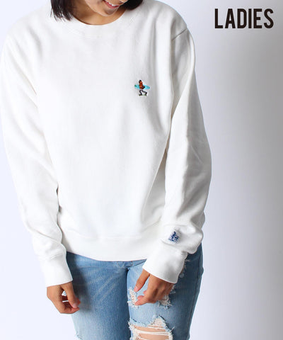 CALIF CREW NECK SWEAT LADIES