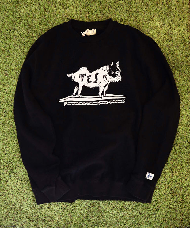 TES HEAVY SWEAT BUHI CREW NECK