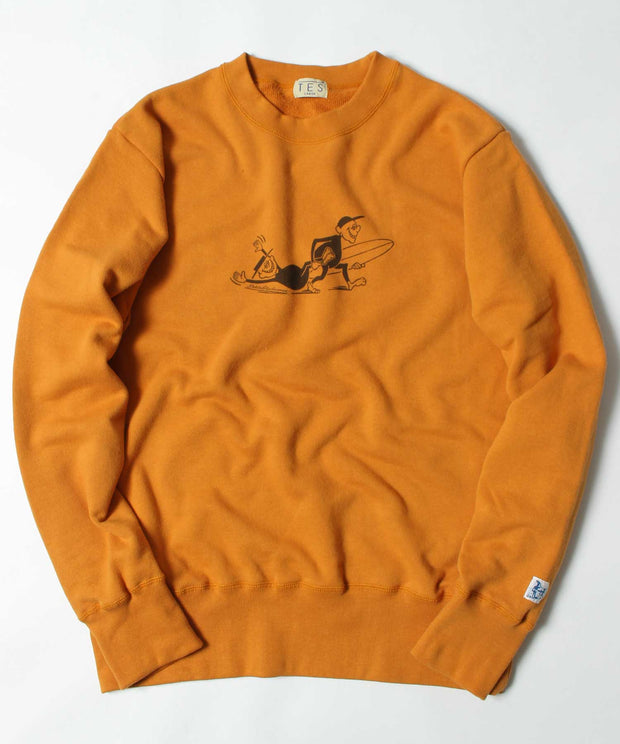 TES IKUZO! CREW NECK SWEAT