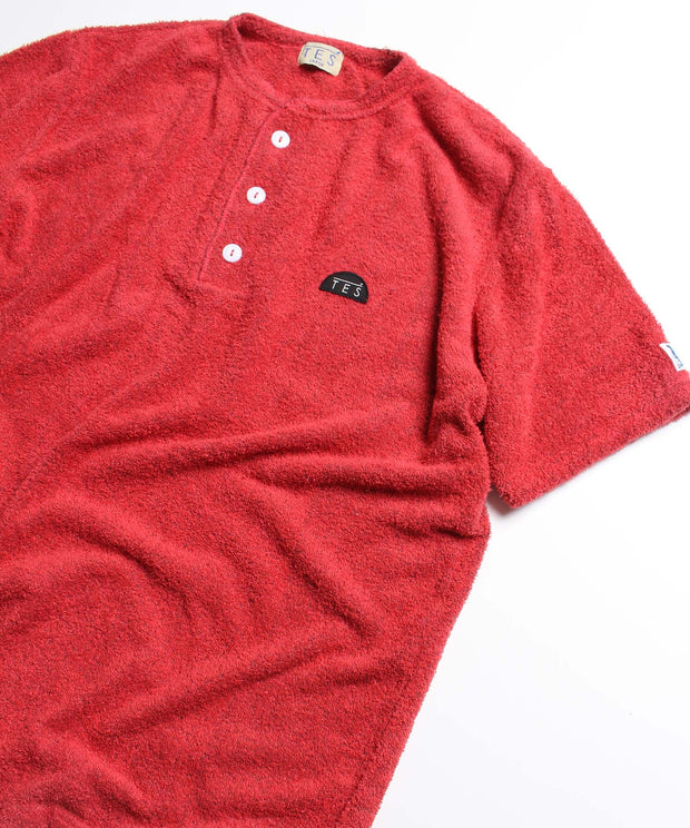 COMFORTABLE PILE HENLEY T / Tシャツ