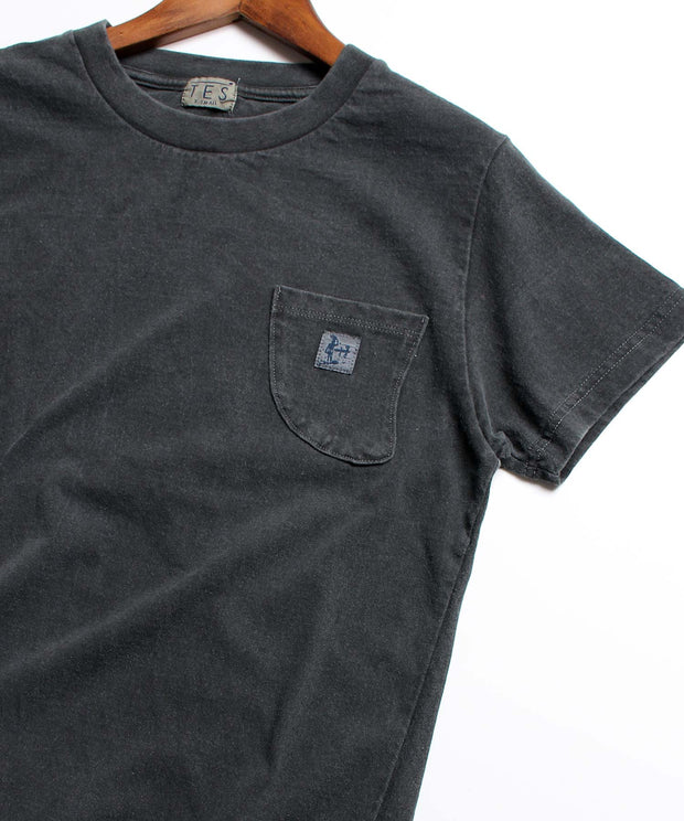 TES CALIFORNIA PIGMENT FIN POCKET TEE