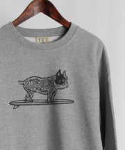 WEB限定!MALI BUHI CREW NECK SWEAT