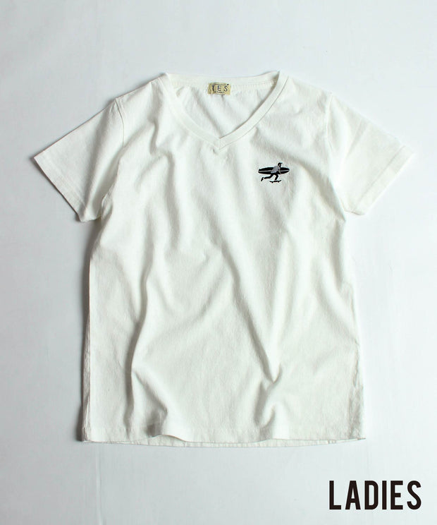LADIES SURF BUM EMB / Tシャツ