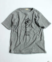 TES COMFORTABLE PILE CYCLE T-SHIRT / Tシャツ