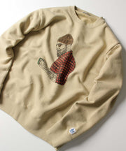 ≪ご予約商品/10上旬お届け≫TES MALIBU STAR CREW NECK SWEAT
