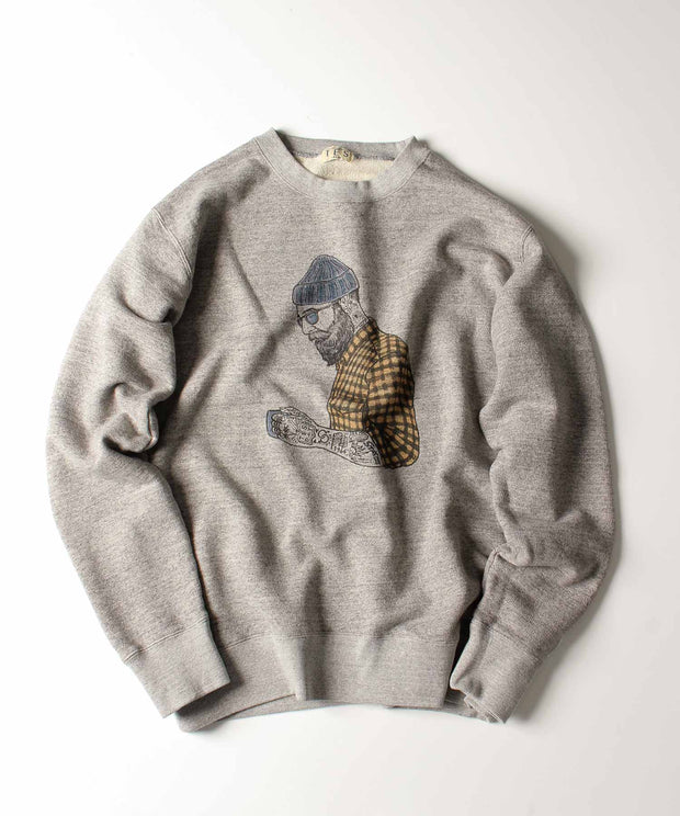 TES MALIBU STAR CREW NECK SWEAT / スウェット トレーナー