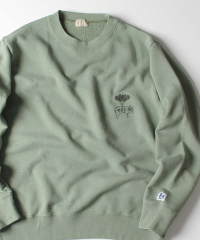 ≪ご予約商品/10上旬お届け≫TES BALLOON BUHI CREW NECK SWEAT