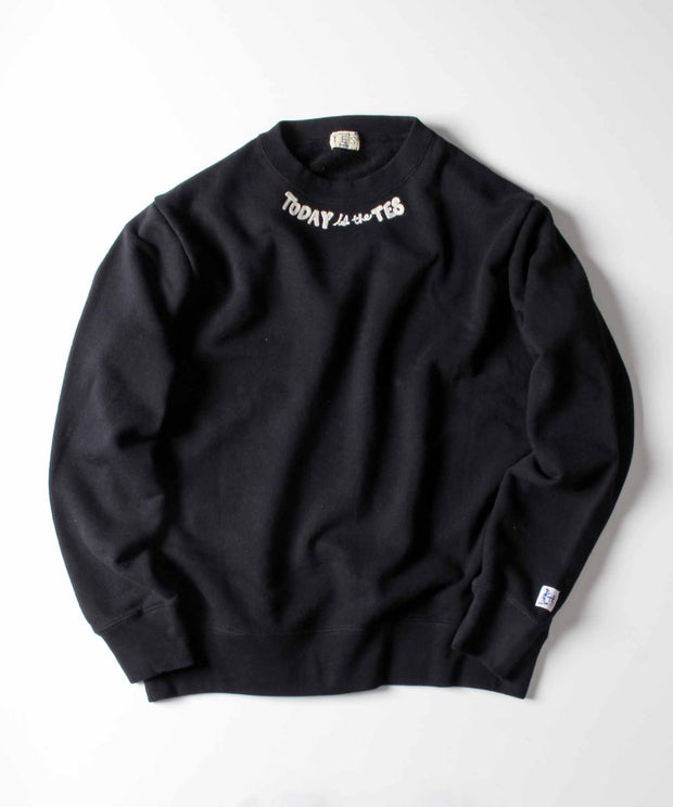 TES TODAY is the TES CREW NECK SWEAT / スウェット トレーナー