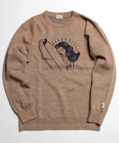 TES SHRED BETTY JQ KNIT / ニット