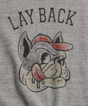 TES LAY BACK CREW NECK SWEAT / スウェット トレーナー