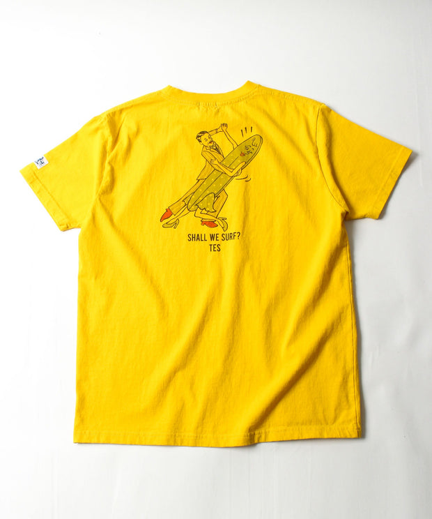 TES SHALL WE SURF? T-SHIRT / Tシャツ