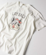 LAY BACK TEE / Tシャツ
