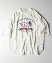 TES COMFORTABLE PILE HALF SLEEVE BIG TEE / Tシャツ