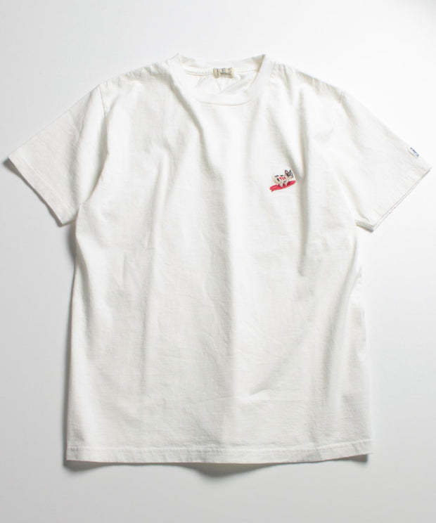 TES TURN BUHI EMB T-SHIRT / Tシャツ