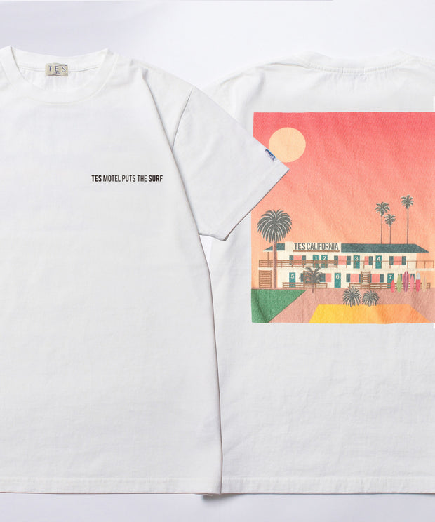 TES MOTEL PUTS THE SURF-A T-SHIRT / Tシャツ