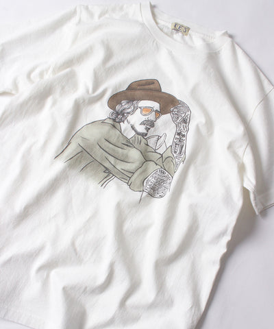TES MALIBU STAR HAT T-SHIRT / Tシャツ