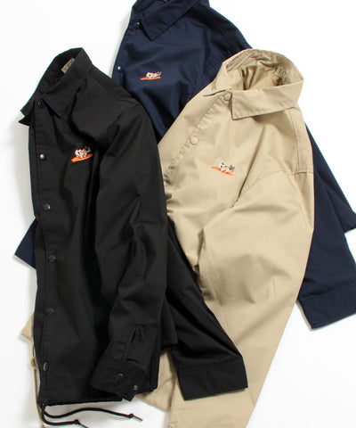 TES TURN BUHI EMB TC COACH JACKET / コーチジャケット