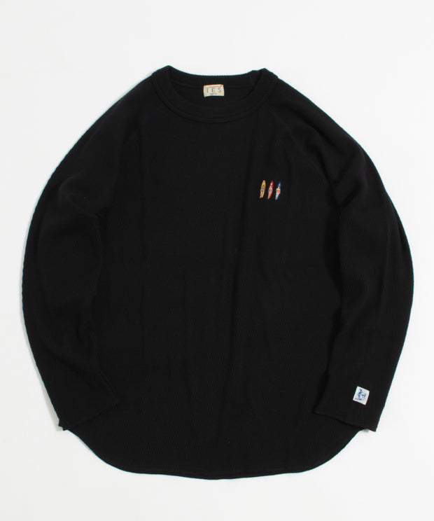 TES HEAVY THERMAL LONG SLEEVE TーSHIRT / ロンT