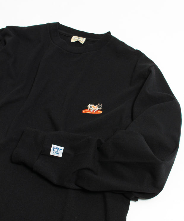 《一部予約商品》TES TURN BUHI EMB LONG SLEEVE T-SHIRT / ロンT