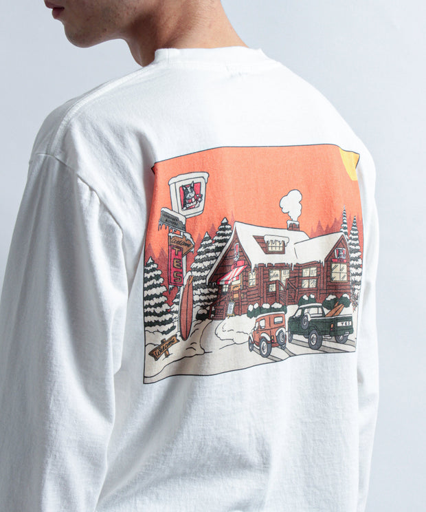 TES BURGER LONG SLEEVE TーSHIRT / ロンT