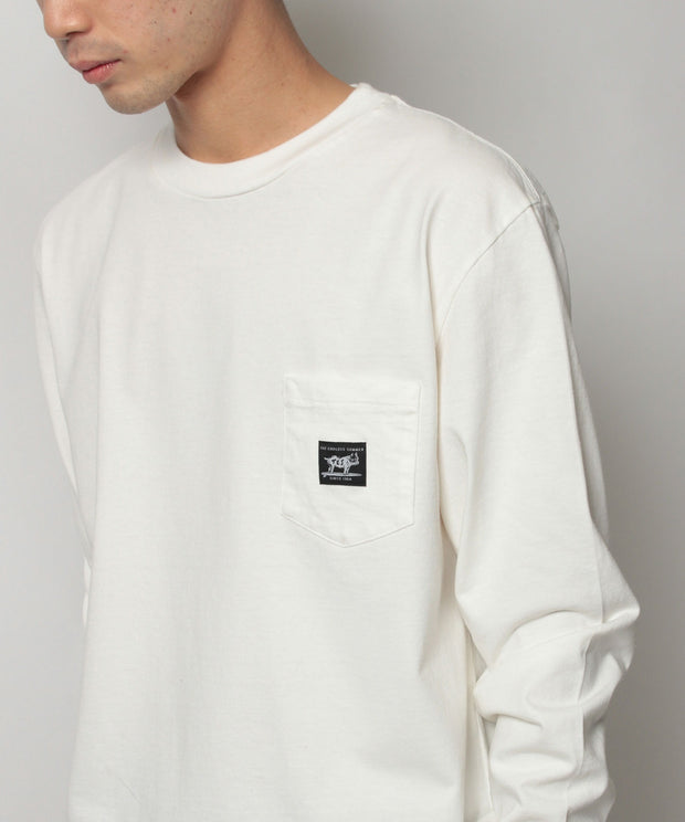 TES TAIL MANUAL BUHI LONG SLEEVE T-SHIRT / ロンT