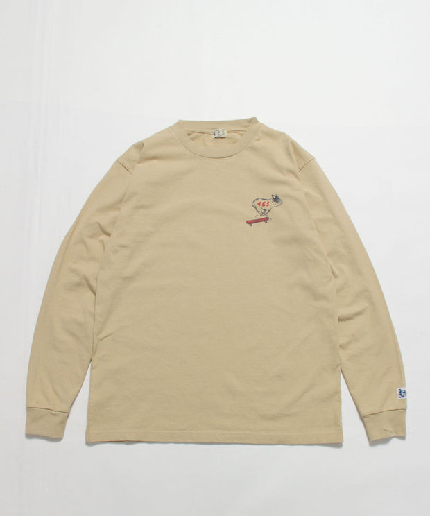 《12月下旬お届け予定》 TES SHRED BUHI LONG SLEEVE T-SHIRT / ロンT