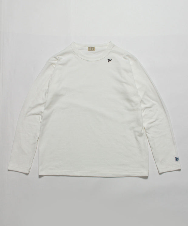 TES CLOUD FABRIC LONG SLEEVE T-SHIRT / ロンT