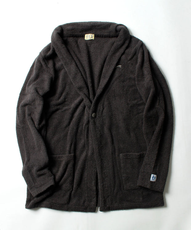 ≪OUTLET≫ TES COMFORTABLE PILE CARDIGAN