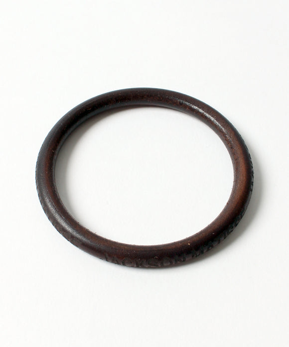 【select item】JACKSON MATISSE Leather Bangle [ジャクソンマティス / JZ18AW034GO]