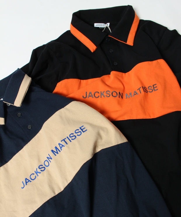 【JACKSON MATISSE】LONG SLEEVE POLO SHIRT