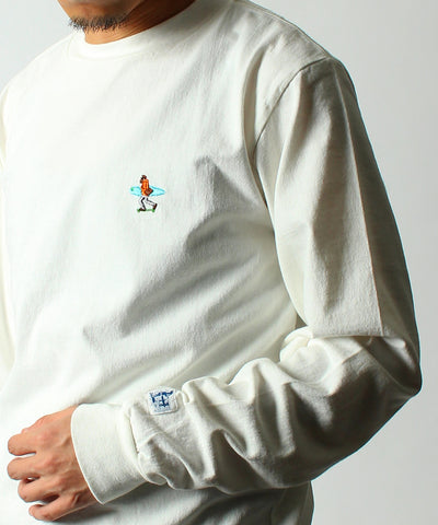 TES CALIFORNIA EMB LONG SLEEVE TEE