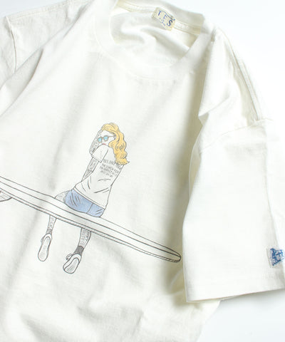 TES MALIBU GIRL T-SHIRT / Tシャツ