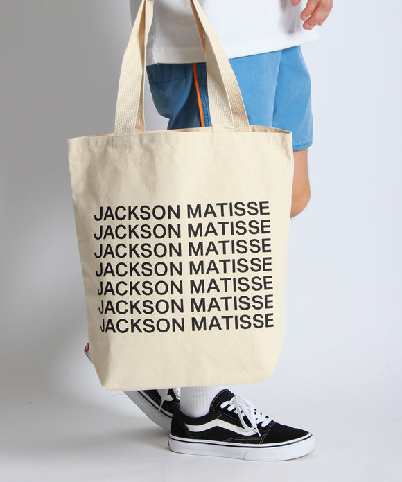 【select item】JACKSON MATISSE LOGO TOTE BAG