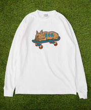 ≪カスタムオーダー≫ BUHIーFACEDOWN CUSTOM LONG SLEEVE T-SHIRT / ロンT