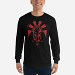 Ancient Greek Warrior - The Spartan Long Sleeve Tee