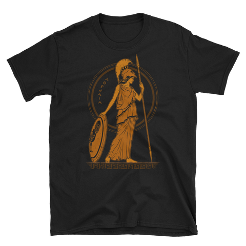 Athena Ancient Greek Goddess of Wisdom T-Shirt