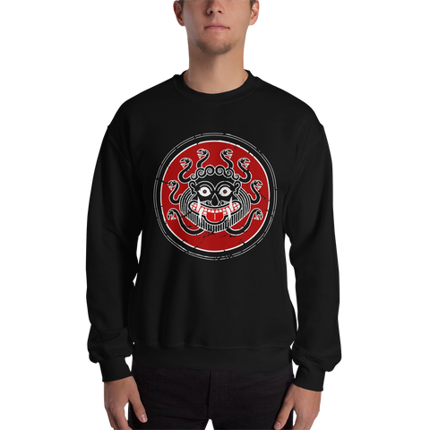 Ancient Greek Warrior Gorgon Sweatshirt