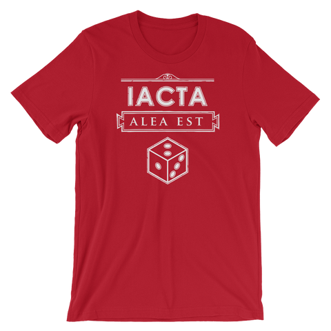 Julius Caesar - Iacta Alea Est (The Die Is Cast) T-Shirt