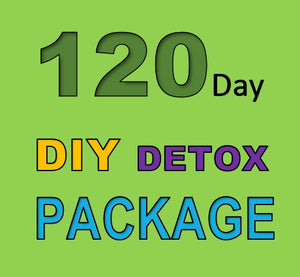 120 DAY DETOX DIY PACKAGE