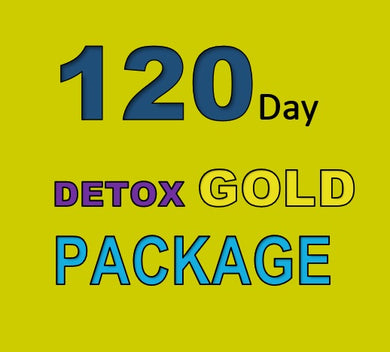 120 DAY DETOX GOLD PACKAGE