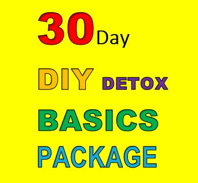 30 DAY DIY DETOX BASICS PACKAGE