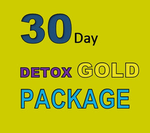 30 DAY DETOX GOLD PACKAGE