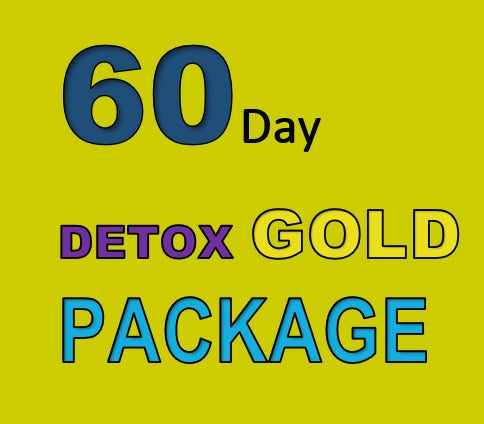 60 DAY DETOX GOLD PACKAGE