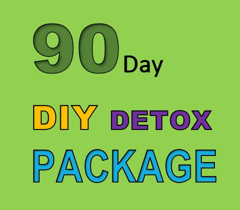 90 DAY DETOX DIY PACKAGE