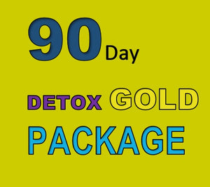 90 DAY DETOX GOLD PACKAGE